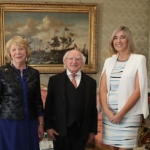 Kernel capital investment – photo of Kernel Capital with President Michael D. Higgins team