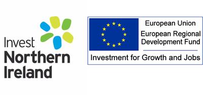Kernel Capital alliances companies –Invest Northern Ireland and European Regional Development Fund logos